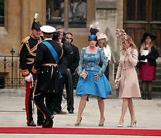 Princesses Eugenie and Beatrice of York