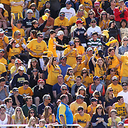 Drexel fans celebrate in the stands after a early goal in the first half of The NCAA Division I Men's Lacrosse Tournament game between No. 12 ranked Drexel and No. 5 seed Denver Sunday, May. 18, 2014 at Delaware Stadium in Newark, DEL