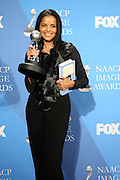 Victoria Rowell  in the Media Room at The 39th Annual NAACP IMAGE AWARDS held at the Shrine Auditorium in Los Angeles, Calaifornia on February 14, 2008