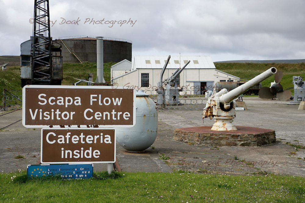 Lyness Naval Museum on the Island of Hoy,Orkney Islands,Scotland..