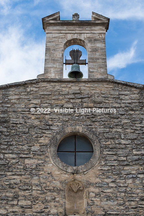 The bell atop a church in Gordes.