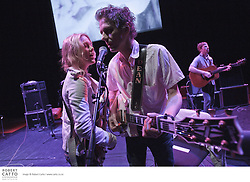 Wellington-born Dean Wareham and wife Britta Phillips, both former members of dream pop/indie group Luna, deliver this effortlessly sophisticated live musical performance to 13 of Andy Warhol's famous screen tests...Captured at Warhol's Silver Factory back in the 1960s, the silent, black and white screen tests include the likes of uber-cool superstars and notorious scenesters Edie Sedgwick, Dennis Hopper and vocalist Nico. A smouldering Lou Reed also makes an appearance - casually sipping a Coke in a laidback tribute to Warhol's pop art ideals.