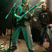 WASHINGTON, DC - May 5th, 2014 - Dr. Know of Bad Brains and Pete Stahl of Scream perform at the 9:30 Club in Washington D.C. as part of the birthday celebration for Trouble Funk's Big Tony. (Photo by Kyle Gustafson / For The Washington Post)