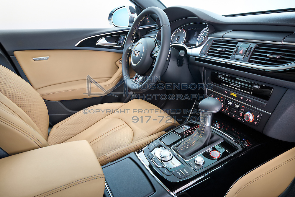 An Audi S6 With The Audi Exclusive Interior Package