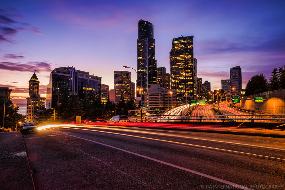Seattle @ Sunset in September