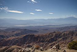 Santa Rosa-San Jacinto Mountains veiwed from Joshua Tree National Park, California