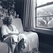 Paul Gipson's grandmother. Photo taken of her in her living room in Conroe, TX.