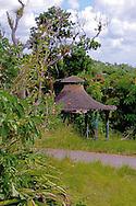 Gazebo in Parque Nacional la Guira, Pinar del Rio Province, Cuba.