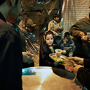 During the Moharram tea and food are offered for free to everybody .