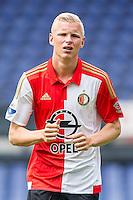 ROTTERDAM - Eerste training van Feyenoord , voetbal , seizoen 2015-2016 , Stadion De Kuip , 28-06-2015 , Speler van Feyenoord Lucas Woudenberg