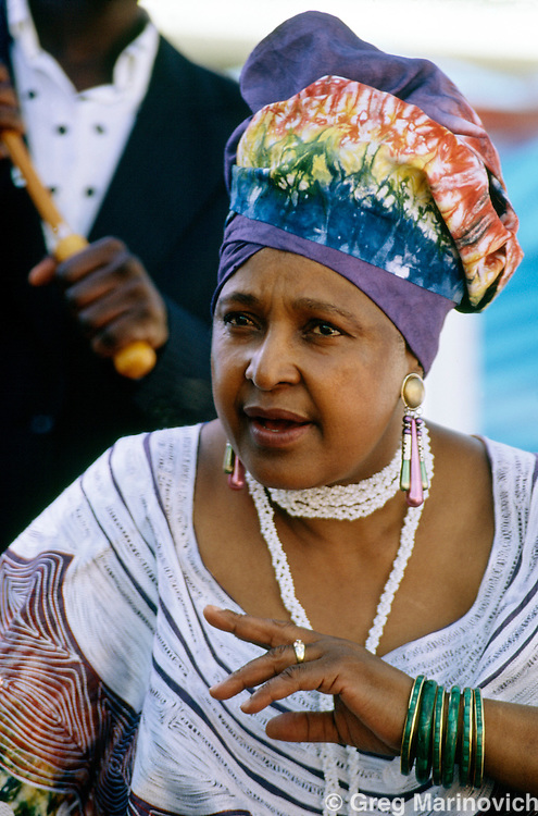 Winnie  Madikizela-Mandela, former wife of Nelson Mandela, South Africa, 1994