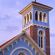South America, Uruguay, Punta del Este, Quaint chapel in resort town.