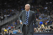 Ole Miss head coach Andy Kennedy vs. La Salle in the Round of 32 of the NCAA Tournament at the Sprint Center in Kansas City, Mo. on Sunday, March 24, 2013.