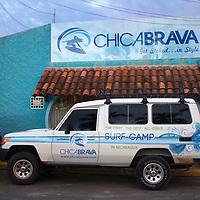 Central America, Nicaragua, San Juan del Sur. Chicabrava Surf Camp.