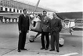 1962 - Mr Mark Downey at Dublin Airport