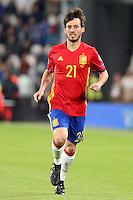 06.10.2016 - Torino - Qualificazioni Mondiali Russia 2016 - Italia-Spagna - Nella foto : David Silva  - Nazionale Spagna