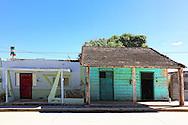 Houses in Campechuela, Granma, Cuba.