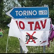 Blocchi stradali NoTav in Val Susa