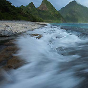 Sunuitao Peak, Ofu Island, American Samoa, waves, National Park of American Samoa, national parks