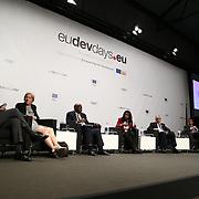 04 June 2015 - Belgium - Brussels - European Development Days - EDD - Closing Panel - From development aid to international Cooperation © European Union
