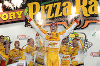 Ryan Hunter-Reay, Iowa Corn Indy 250, Iowa Speedway, Newton, Iowa 06/23/12
