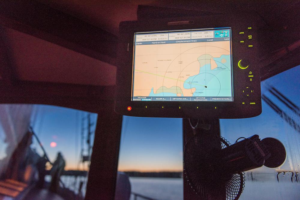 Voyage sur le Fleuve Saint-Laurent avec un groupe de jeunes 18-35 issu d'un programme d'emp;oi pour connaitre les métiers de la mer.