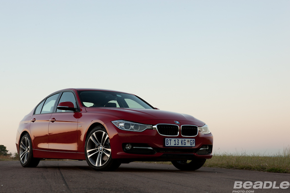 BMW launches the new 3 series luxury motor vehicle project name F30. BMW South Africa launches to the media including a tour of the assembly plat in Rosslyn, South Africa as well as a road and track experience of the new BMW motor vehicle assembled in South Africa