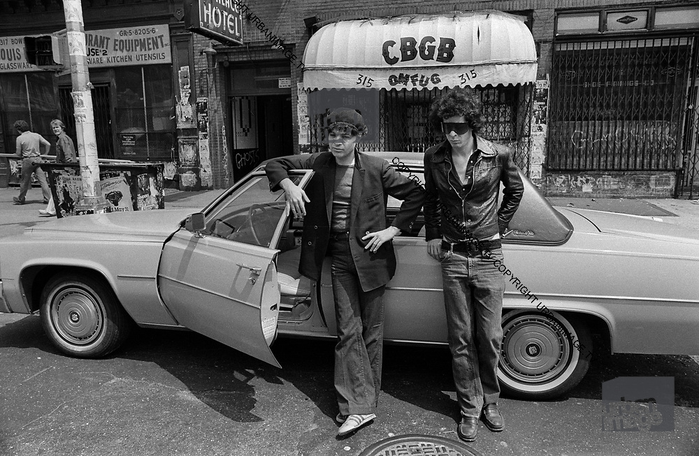 Alan Vega and Martin Rev - Suicide in New York early Sunday Morning at CBGB's 1979
