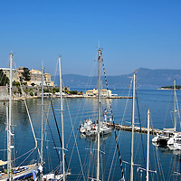 Town of Corfu, Greece