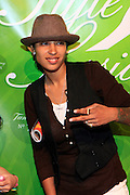 Kisha B at The Tanqueray 3rd annual Style Sessions tour, making its tenth stop with a grande finale in NYC on May 29, 2008 at The Metropolitan Pavillion...Tanqueray Style Sessions is a private, invite-only affair showcasing limited edition apparel by Tanqueray?s partnering brands such as Marc Ecko, New Era, and Zero Halliburton. Responsible trendsetters, who don the culture, will experience an evening of music, art and fashion while discovering the three styles of Gin; London Dry, No. Ten and Rangpur.