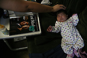 A baby in Kivalina, Alaska. 2009