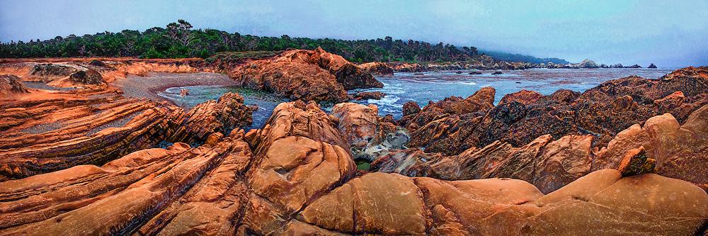 Pt. Lobos panorama near Monterey on the California coast