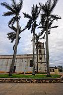 Church in San Antonio de los Banos, Artemisa Province, Cuba.