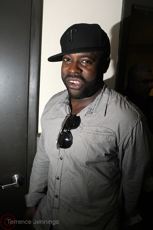 BlackThought(ROOTS) backstage at The ROOTS Present the Jam Produced by Jill Newman Productions on March 19, 2009 held at Highline Ballroom in New York City.