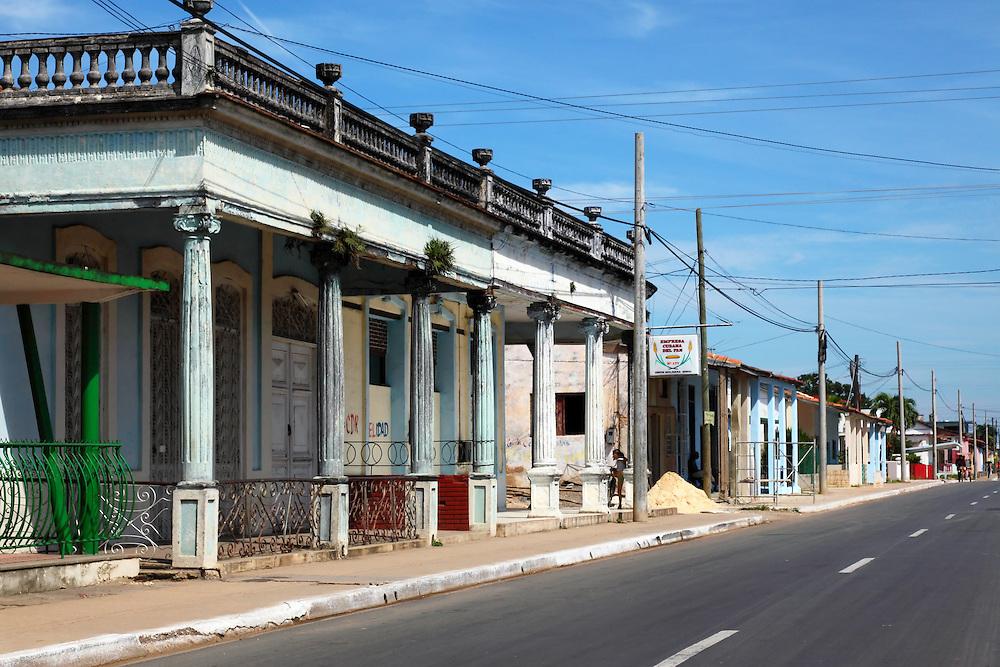 Street In Candelaria Artemisa Cuba Robin Thom Photography