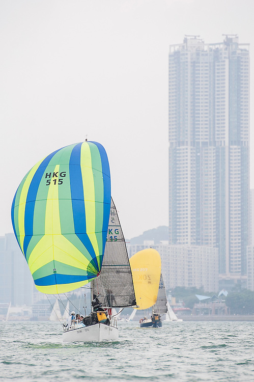 Participants in action during the Old Mutual Top Dog Trophy Series 2015-2016 on November 21 2015 in Hong Kong, China. Photo by Xaume Olleros