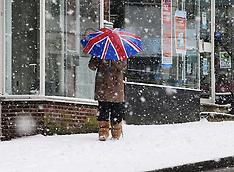 JAN 18 2012 Snow in the UK