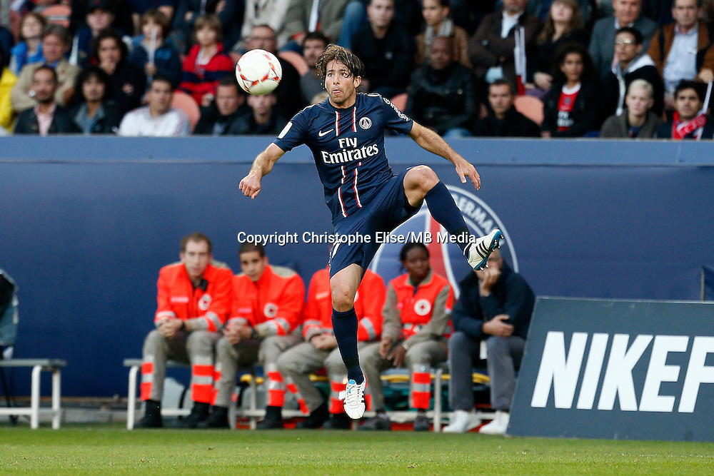 FOOTBALL - FRENCH CHAMPIONSHIP 2012/2013 - L1 - PARIS SAINT GERMAIN VS SOCHAUX - 29/09/2012 - MAXWELL (PARIS SAINT-GERMAIN)