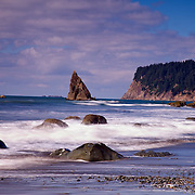 Mouth of the Hoh River at Oil City Beach