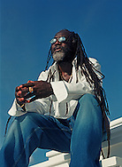 Freddie McGregor as part of CD Album Cover Package shot in Miami for VP Records