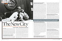 """Cory A. Booker - The Mayer to Watch / The New City"", Esquire Magazine, October 2006"