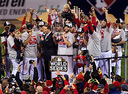 The St. Louis Cardinals win, 2011