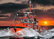 Owner: Swedish Maritime Admistration.Boat model: Pilot Boat.Camera: Mamiya RZ II Pro.Film: Fuji.Flash: Profoto 7b