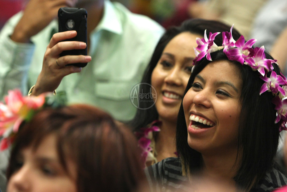 Hokulani's Hula Studio performing at the Annual Live Aloha Festival 2011.