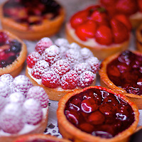 Paris. France., French cuise is famous for its pastry and fresh Mediterranean products