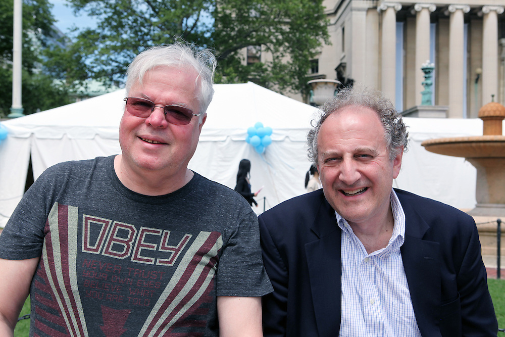 Juris Kaza '71 (left).Joshua Rubenstein '71