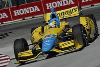 Mike Conway, Honda Indy Toronto, Streets of Toronto, Toronto, Ontario CAN 07/13/13