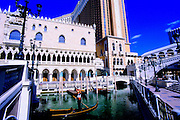 Image of The Venetian Resort, Hotel, & Casino on The Strip in Las Vegas, Nevada, American Southwest