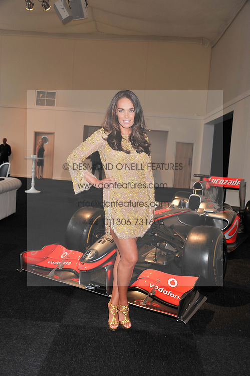 TAMARA ECCLESTONE at the F1 Party in aid of Great Ormond Street Hospital Children's Charity held at Battersea Evolution, Battersea Park, London on 4th July 2012.