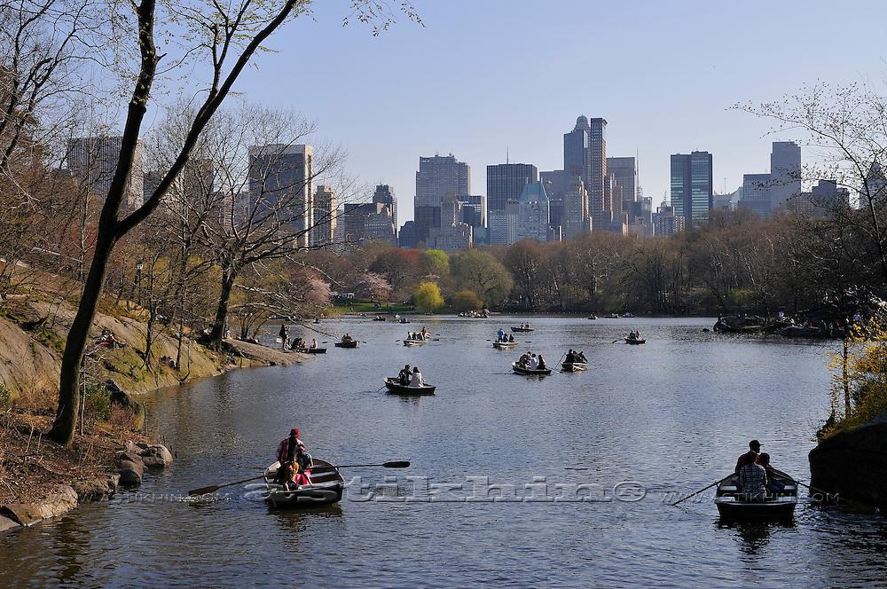 Spring on Central Park